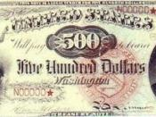 John Quincy Adams - Series of 1869 $500 bill