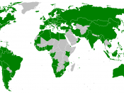 Parties to the MARPOL 73/78 convention on marine pollution