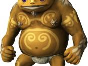 A Goron as seen in The Legend of Zelda: Twilight Princess