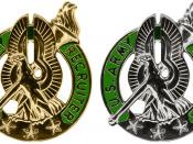 English: Army Recruiter Badges Source Public domain image created by United States Army Human Resources Command (2002)