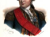 English: Count De Grasse. Vice Admiral victorious in the naval battle of the Chesapeake in 1781. Français : Le comte De Grasse, victorieux à la bataille navale de la Chesapeake en 1781.