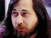 An image of Richard Matthew Stallman taken from the cover of the O'Reilly book Free as in Freedom: Richard Stallman's Crusade for Free Software by Sam Williams, published on March 1, 2002 under the GFDL.