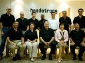 English: Headstrong's executive leadership and management team