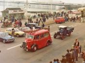 Veteran Commercial Vehicles, Historic Commercial Vehicle Run, Brighton, Sussex - historic Photograph taken 1979
