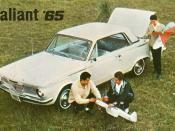 1965 Plymouth Valiant Hardtop (Mexico)