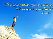 Attitude, not Aptitude