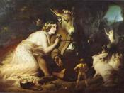 Sir Edwin Landseer: Scene From A Midsummer Night's Dream, Titania and Bottom (1848)
