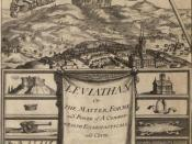 Book by Thomas Hobbes - Leaviathan, which talks about society and absolutism.