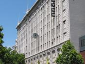 Myer Melbourne main store, Lonsdale Street, Melbourne. Completed 1933.