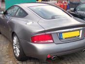 Aston Martin Vanquish rear view
