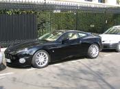 Black Aston Martin Vanquish S.