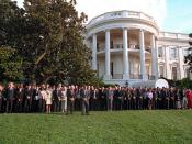 911: South Lawn Moment of Silence, 09/18/2001.