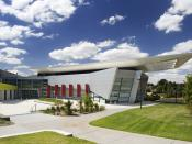 English: Campbelltown Arts Centre, photo by William Rethmeier. Image courtesy Tanners Architects