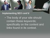 Internet Marketing Strategy Using Search Engine Optimization Slide18