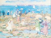 Summer Visitors by Maurice Prendergast (1897)