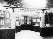 Exhibit, ''Home Economics in the New York State College of Agriculture,'' at the State ...