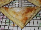 Turnover made of puff pastry