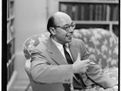 English: Portrait of Ahmet M. Ertegun, Turkish Embassy(?), Washington, D.C., between 1938 and 1948.
