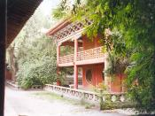 English: Wen Miao temple, Wuwei, Gansu, China. עברית: מקדש וון מיאו, וו-ווי, גאנסו, סין.