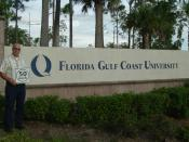 English: Metric System Speed Limit Signs posted on roads at Florida Gulf Coast University (FGCU)