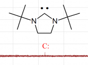 Carbene peak in 13 C NMR See also: 100px for full 13 C NMR spectrum
