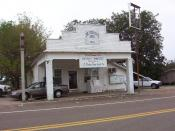 Nutbush, Tennessee, childhood home of singer Tina Turner on State Route 19 (2004)