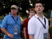 Military Families share golf memories at Tiger Woods tournament 090702