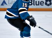 English: Dany Heatley of San Jose Sharks