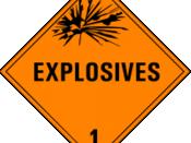 Class 1: Explosives