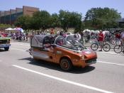 English: Art Car Parade in Houston, Texas.