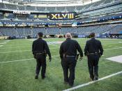 Director New York Field Operations Robert Perez visits MetLife Stadium
