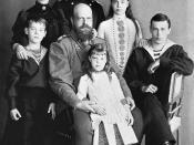 Русский: Семья императора Александра III