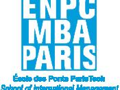 English: Logo ENPC MBA Paris School of International Management