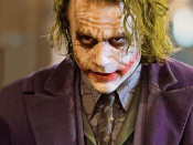 The Joker in The Dark Knight is portrayed by Heath Ledger.