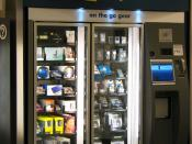English: Best Buy Express vending machine, in Atlanta airport, Georgia
