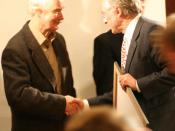 Karlheinz Deschner (left) and Richard Dawkins (right)