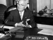 President Harry Truman with