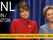 Web promo for 2008 web video of Palin (Fey) and Clinton (Poehler) from NBC.com.