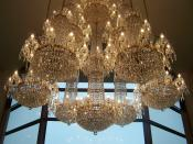 Waterford Crystal Chandelier