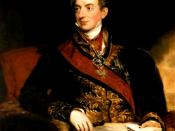 English: Klemens Wenzel von Metternich (1773-1859), German-Austrian diplomat, politician and statesman.