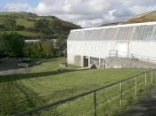 English: Llangeinor Facing North Westerly, this picture shows the Richard Price Centre which is an Adult Learning Centre.