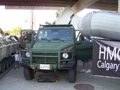 Canadian Armed Forces G-Wagon -- Part of the Canada Forces presence at the 2007 Calgary Stampede.