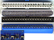 Parallel ATA Connectors showing internal workings