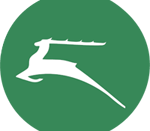Logo of the White Stag Leadership Development program, derived from the badge of the 4th World Scout Jamboree and the white stag of Hungarian mythology.