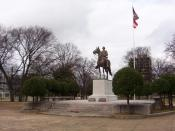 English: Nathan Bedford Forrest grave and memorial in Nathan Badford Forrest Park on Union Ave in Memphis, Tennesse. (Jan. 2008) Photo made by: Thomas R Machnitzki http://nutbush.machnitzki.com I made the photo myself, feel free to use it. Category:Images