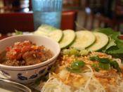 bun cha hanoi Vietnamese Bún chả food