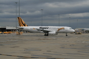 English: Tiger Airways Australia Airbus A320 VH-VND