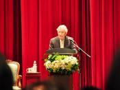 Noam Chomsky in Taipei