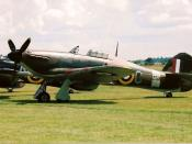 Hawker Hurricane Mk IIB Z5140. The Hurricane II was the backbone of the fighter defence.