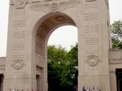Lafayette Escadrille Memorial Arch, 1928